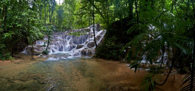 Palenque vandfald