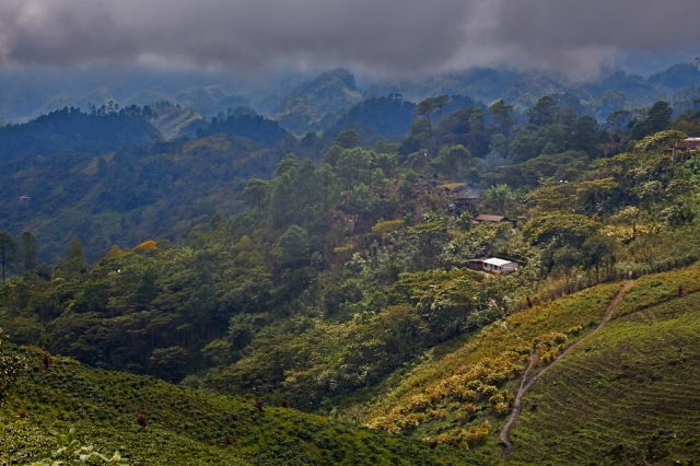 Guatemala bjerglandskab