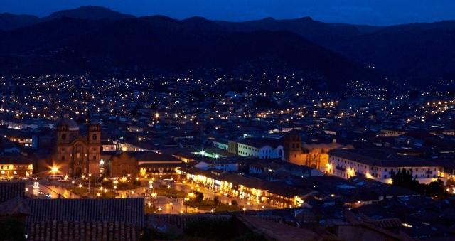 Cusco i tusmørke