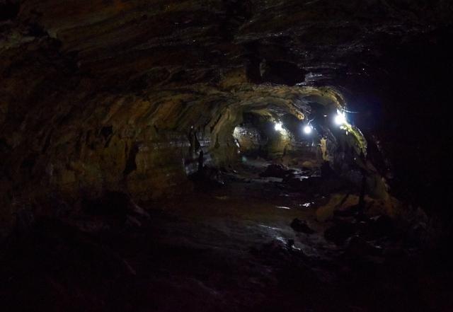 Galapagos santa cruz lavatunnel