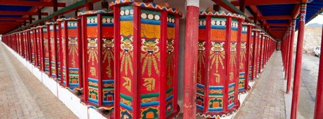 Tibet bedehjul - Tongren