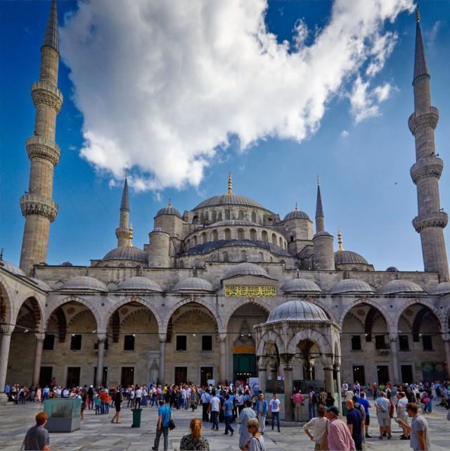 Den blå moske Kazbegi